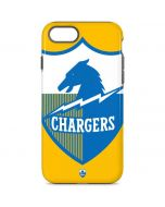Los Angeles Chargers Retro Logo iPhone 8 Pro Case