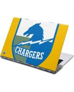 Los Angeles Chargers Retro Logo Yoga 910 2-in-1 14in Touch-Screen Skin