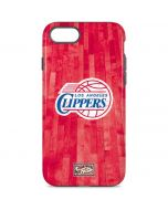 Los Angeles Clippers Hardwood Classics iPhone 8 Pro Case