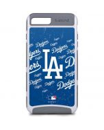 Los Angeles Dodgers - Cap Logo Blast iPhone 8 Plus Cargo Case