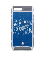Los Angeles Dodgers - Primary Logo Blast iPhone 8 Plus Cargo Case