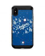 Los Angeles Dodgers - Primary Logo Blast iPhone XS Max Cargo Case