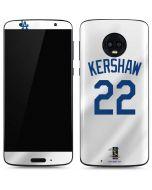 Los Angeles Dodgers #22 Clayton Kershaw Moto G6 Skin