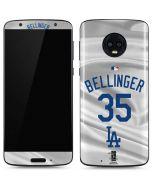 Los Angeles Dodgers Bellinger #35 Moto G6 Skin