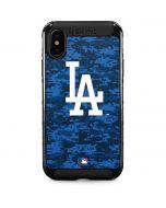 Los Angeles Dodgers Digi Camo iPhone XS Max Cargo Case
