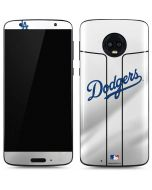 Los Angeles Dodgers Home Jersey Moto G6 Skin