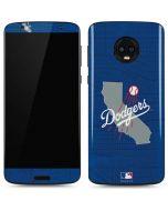 Los Angeles Dodgers Home Turf Moto G6 Skin