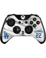 Los Angeles Dodgers Kershaw #22 Xbox One Controller Skin