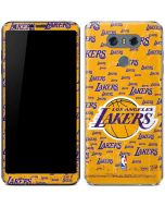 Los Angeles Lakers Blast LG G6 Skin