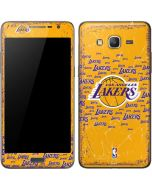 Los Angeles Lakers Blast Galaxy Grand Prime Skin