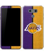 Los Angeles Lakers Canvas LG G6 Skin