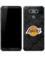 Los Angeles Lakers Dark Rust LG G6 Skin