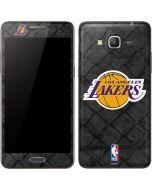 Los Angeles Lakers Dark Rust Galaxy Grand Prime Skin
