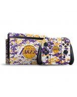 Los Angeles Lakers Digi Camo Nintendo Switch Bundle Skin