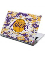 Los Angeles Lakers Digi Camo Yoga 910 2-in-1 14in Touch-Screen Skin