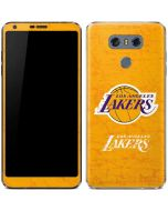 Los Angeles Lakers Gold Primary Logo LG G6 Skin