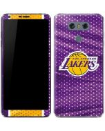 Los Angeles Lakers Home Jersey LG G6 Skin