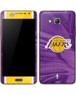 Los Angeles Lakers Home Jersey Galaxy Grand Prime Skin