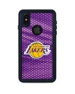 Los Angeles Lakers Home Jersey iPhone X Waterproof Case