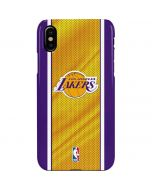 Los Angeles Lakers Home Jersey iPhone XS Max Lite Case