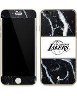 Los Angeles Lakers Marble iPhone 6/6s Skin