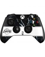 Los Angeles Lakers Marble Xbox One Controller Skin
