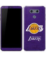 Los Angeles Lakers Purple Primary Logo LG G6 Skin