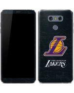 Los Angeles Lakers Secondary Logo LG G6 Skin