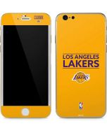 Los Angeles Lakers Standard - Gold iPhone 6/6s Skin
