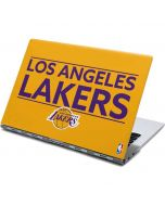 Los Angeles Lakers Standard - Gold Yoga 910 2-in-1 14in Touch-Screen Skin