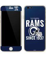 Los Angeles Rams Helmet iPhone 6/6s Skin