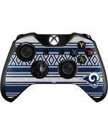 Los Angeles Rams Trailblazer Xbox One Controller Skin