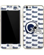 Los Angeles Rams White Logo Blast iPhone 6/6s Skin