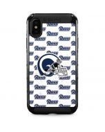Los Angeles Rams White Logo Blast iPhone XS Max Cargo Case