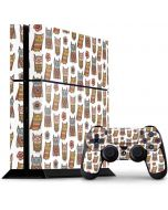 Lotsa Owls PS4 Console and Controller Bundle Skin