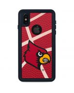 Louisville Red Basketball iPhone X Waterproof Case