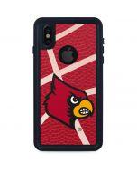 Louisville Red Basketball iPhone XS Waterproof Case