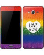 Love Is Love Rainbow Galaxy Grand Prime Skin