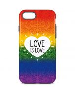 Love Is Love Rainbow iPhone 8 Pro Case