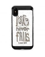 Love Never Fails iPhone XS Max Cargo Case