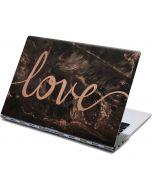 Love Rose Gold Black Yoga 910 2-in-1 14in Touch-Screen Skin