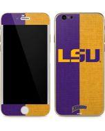 LSU Bold Split iPhone 6/6s Skin
