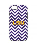 LSU Chevron Print iPhone 8 Pro Case