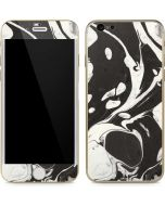 Marbleized Black iPhone 6/6s Skin