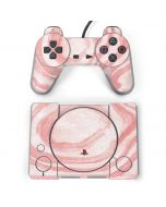 Marbleized Pink PlayStation Classic Bundle Skin