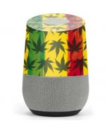 Marijuana Rasta Pattern Google Home Skin