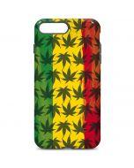 Marijuana Rasta Pattern iPhone 7 Plus Pro Case