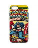 Marvel Comics Captain America iPhone 8 Pro Case