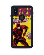 Marvel Comics Daredevil iPhone XS Waterproof Case