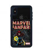 Marvel Comics Fanfare iPhone XS Waterproof Case